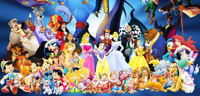 Die Disney Zeichentrickfilme