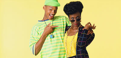 Will Smith & Janet Hubert