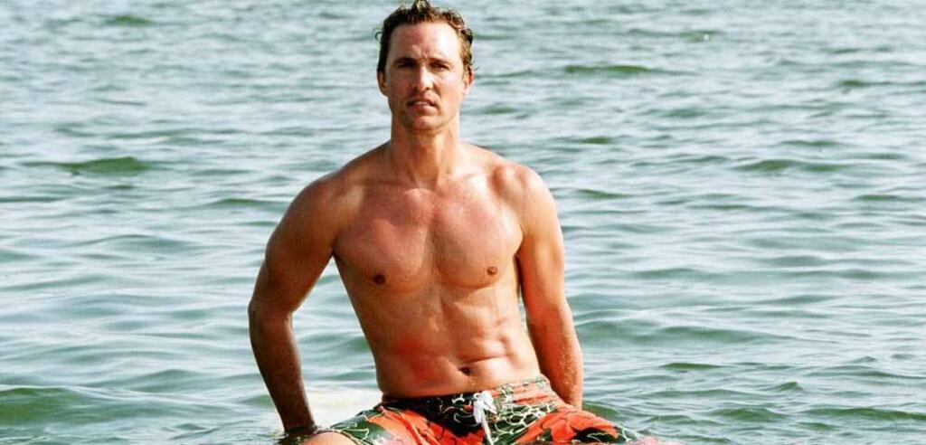 Matthew McConaughey in Zum Ausziehen verführt