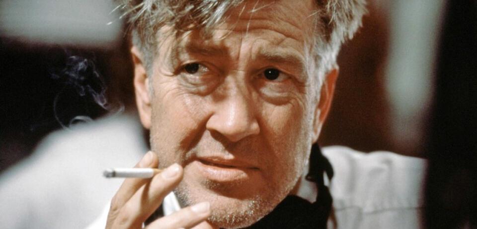 David Lynch bei den Dreharbeiten zu Mulholland Drive (2001)
