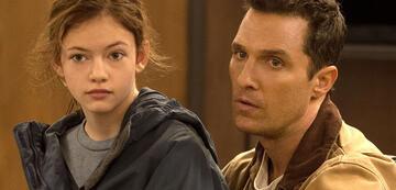 Matthew McConaughey: schon in Interstellar als Vater unterwegs (hier mit Mackenzie Foy)