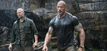 Bild zu:  Jason Statham und Dwayne Johnson in Fast & Furious: Hobbs & Shaw