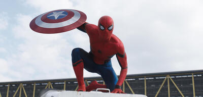 Spider-Man in The First Avenger: Civil War