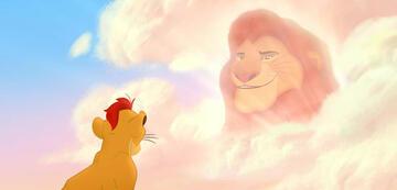 Passt seit 20 Jahren auf: Mufasa (r.) in The Lion Guard