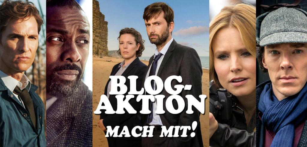 True Detective, Luther, Broadchurch, Veronica Mars, Sherlock