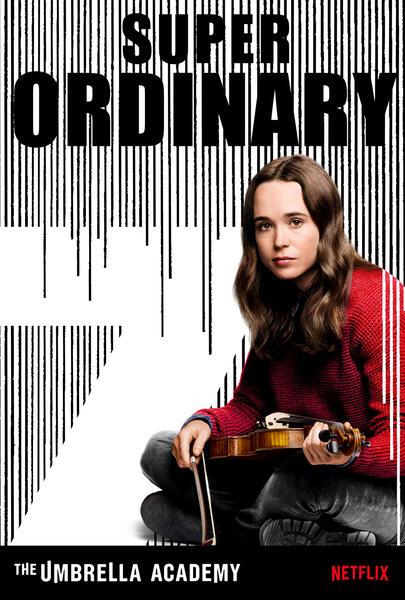 The Umbrella Academy, The Umbrella Academy - Staffel 1 mit Ellen Page