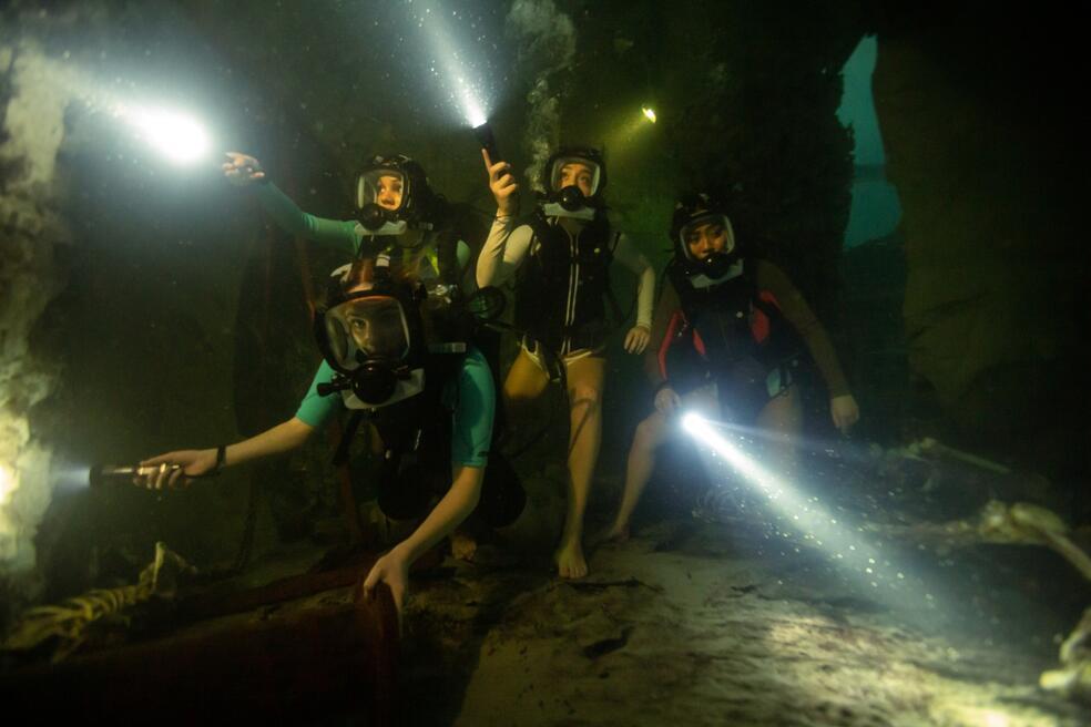 47 Meters Down: Uncaged mit Sophie Nélisse, Corinne Foxx, Sistine Rose Stallone und Brianne Tju
