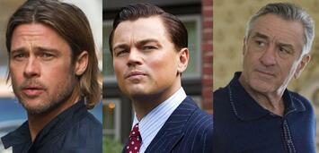 Bild zu:  Bald gemeinsam vor der Kamera: Pitt, DiCaprio und De Niro