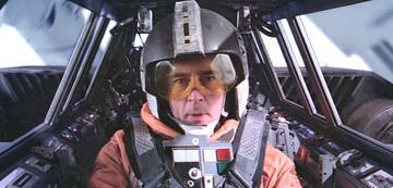 Denis Lawson als Wedge Antilles in Star Wars