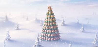 Die Minions feiern Weihnachten