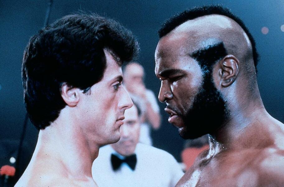 Rocky III - Das Auge des Tigers mit Sylvester Stallone und Mr. T