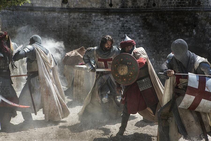 Knightfall, Knightfall Staffel 1 mit Tom Cullen