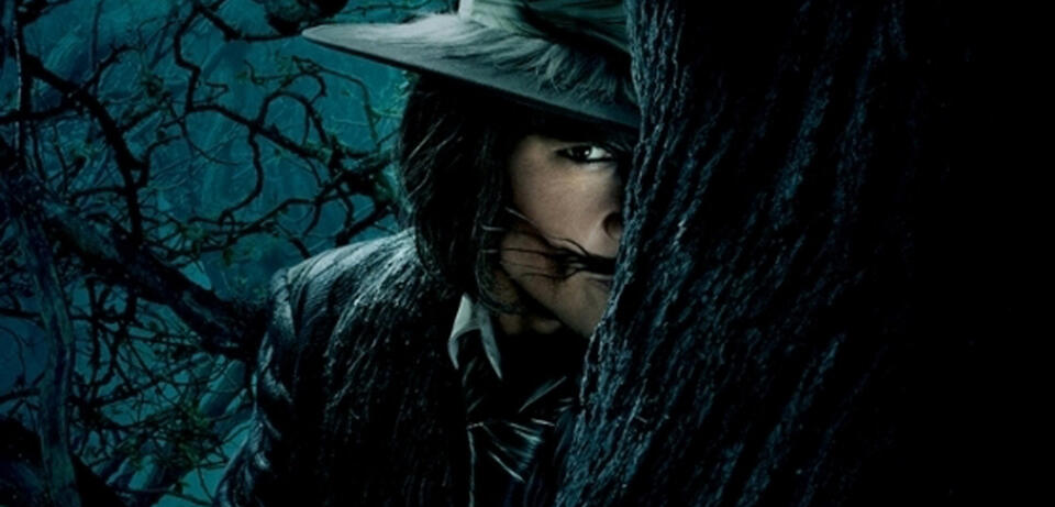 Johnny Depp als Wolf in Into the Woods
