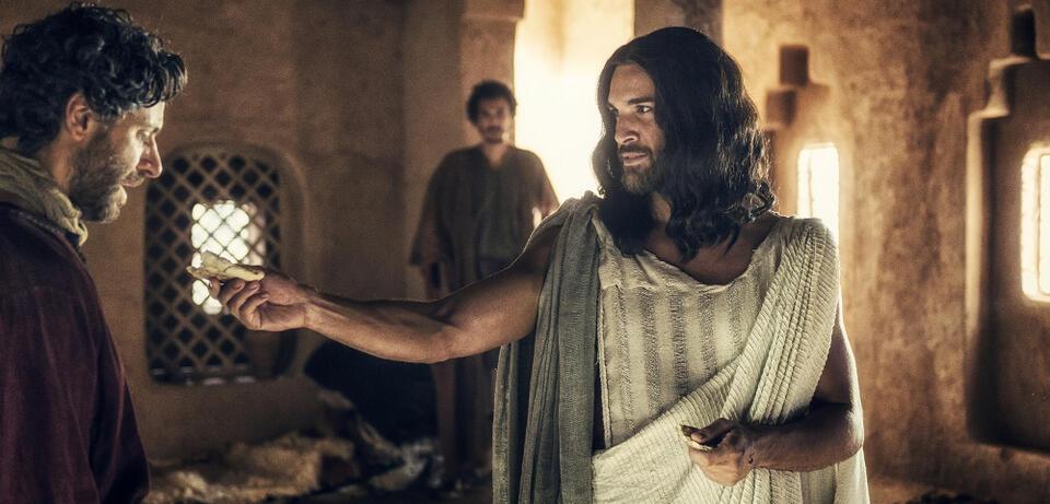 Juan Pablo di Pace als Jesus in A.D.
