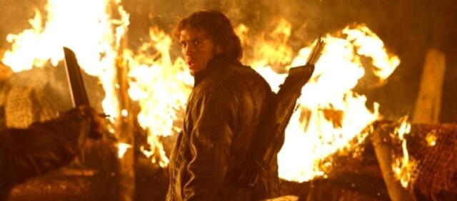 Hat Sam Claflin etwa schon Feuer gefangen?