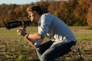 """Jeff Nichols bei den Dreharbeiten zu """"Loving"""""""