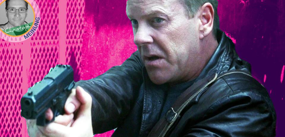 Keiefer Sutherland als Jack Bauer in 24