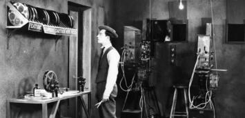 Bild zu:  Buster Keaton in SHERLOCK JR.