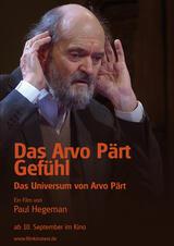Das Arvo Pärt Gefühl - Poster