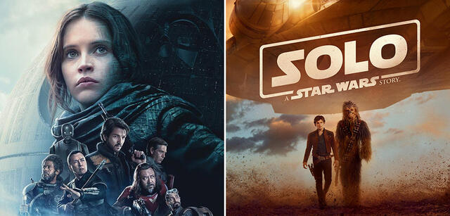 Rogue One und Solo: A Star Wars Story
