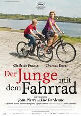 Der Junge mit dem Fahrrad - Poster