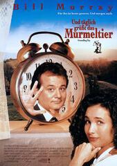 Das deutsche Filmplakat zu Und täglich grüßt das Murmeltier