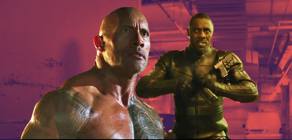 Dwayne Johnson in Hobbs and Shaw