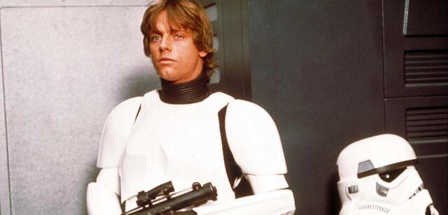 Mark Hamill als Stormtrooper