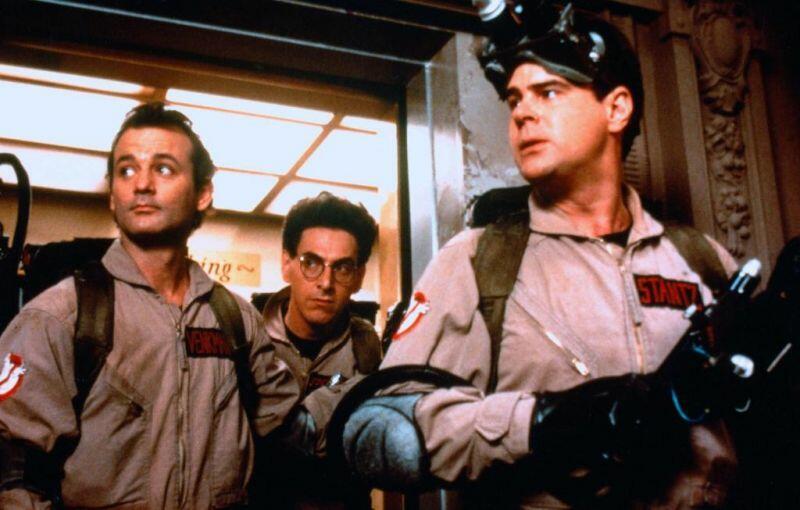 Ghostbusters - Die Geisterjäger mit Bill Murray, Dan Aykroyd und Harold Ramis