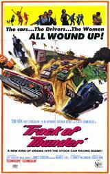 Track of Thunder - Poster