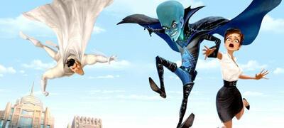 Animierte Helden und Schurken in Megamind