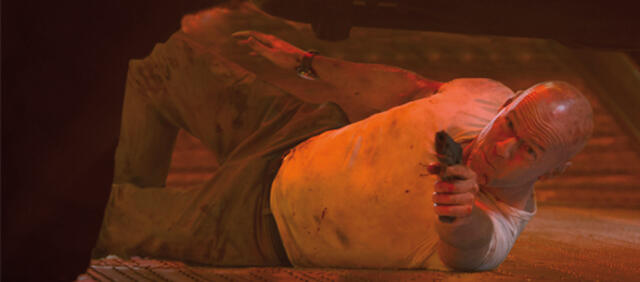 Bruce Willis aka John McClane in Stirb Langsam - Ein guter Tag zum Sterben