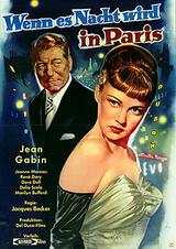 Wenn es Nacht wird in Paris - Poster