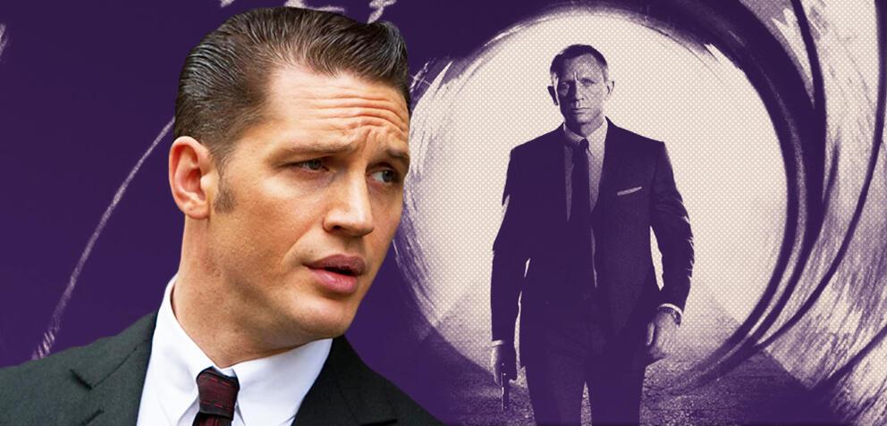 Tom Hardy in Legend und Daniel Craig als James Bond