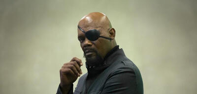Samuel L. Jackson als Nick Fury