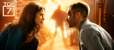 Jake Gyllenhaal und Michelle Monaghan in Source Code