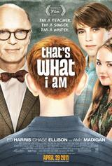 That's What I Am - Poster