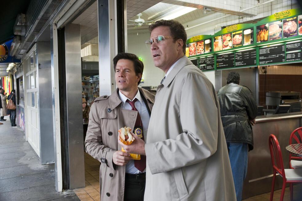 Die etwas anderen Cops mit Mark Wahlberg und Will Ferrell