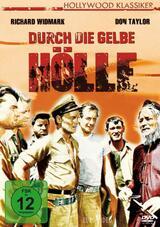 Durch die gelbe Hölle - Poster