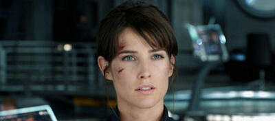 Cobie Smulders in The Avengers