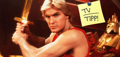 Sam J. Jones in Flash Gordon