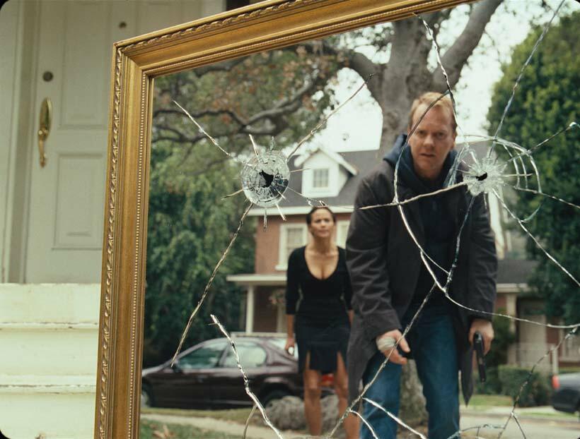 Mirrors mit Kiefer Sutherland und Paula Patton