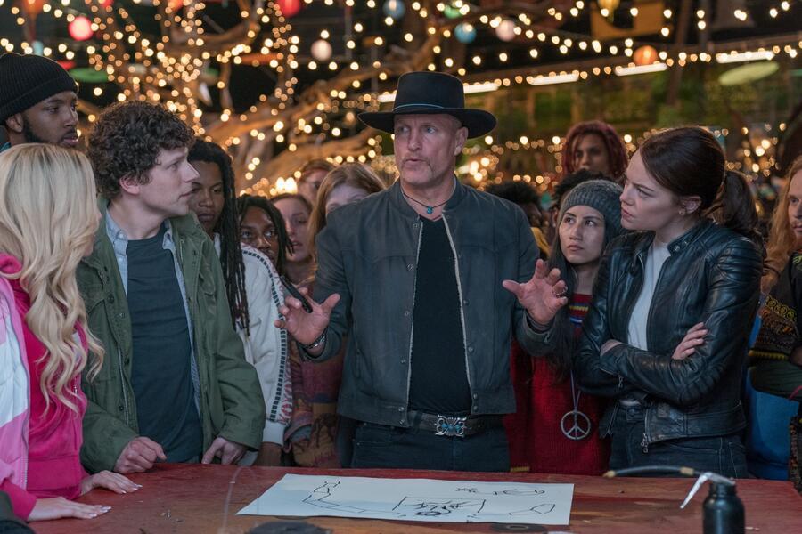 Zombieland 2: Doppelt hält besser mit Emma Stone, Woody Harrelson, Jesse Eisenberg und Zoey Deutch