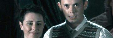 Harry Potter: Alice & Frank Longbottom-Foto - die Ohren hat Neville vom Papa