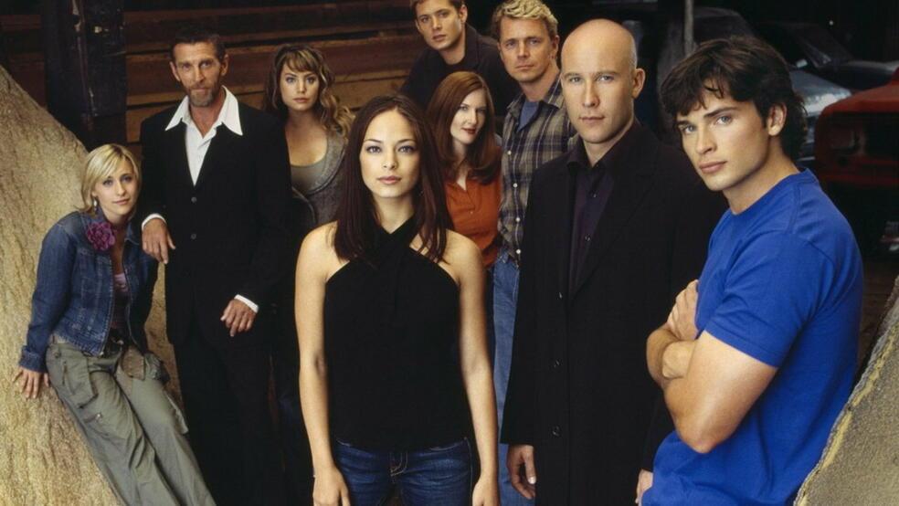 Smallville mit Jensen Ackles und Tom Welling