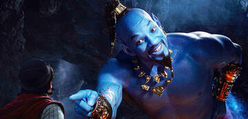 Will Smith als Dschinni in Aladdin