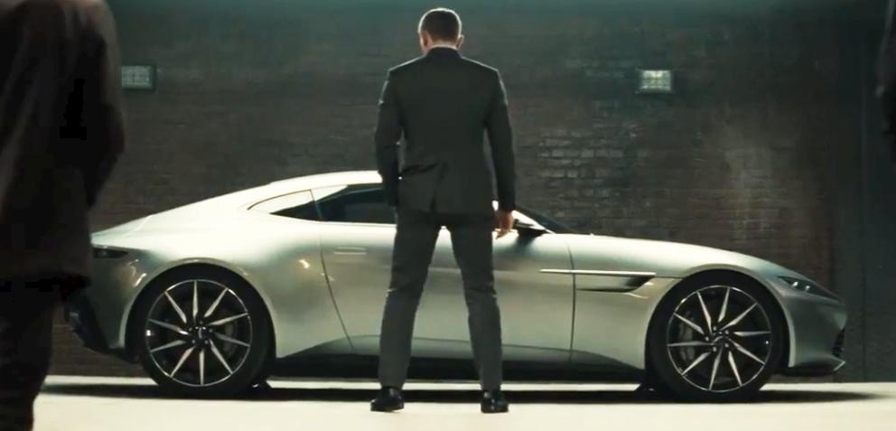 Edle Bilder Zur James Bond Edition Des Aston Martin Db9