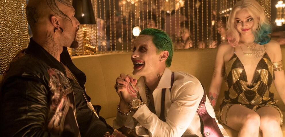 Jared Leto und Margot Robbie in Suicide Squad