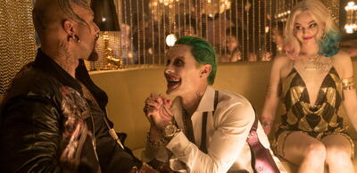 Jared Leto und Margot Robbie in Suicide Squad