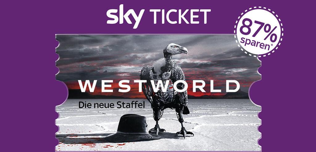 Das Sky Entertainment Ticket gibt es aktuell besonders günstig.